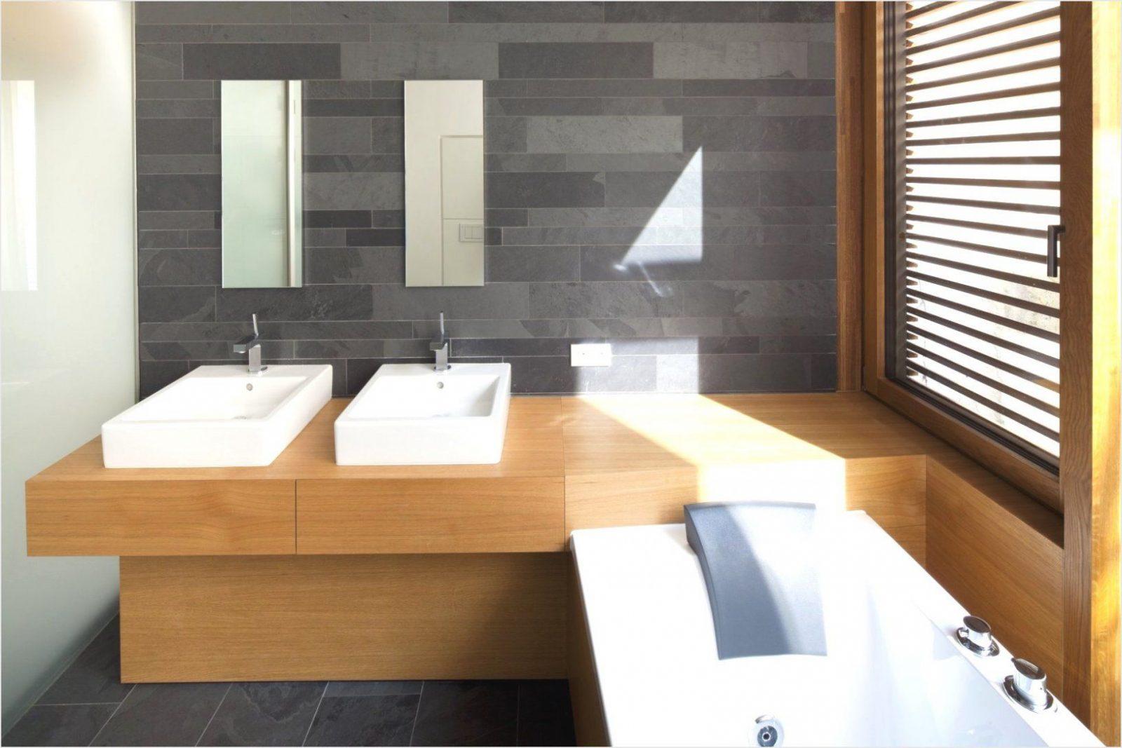 Fabelhafte Badezimmer Anthrazit Holz Home Design Bad Aus Holz von Badewanne In Holz Einfassen Bild