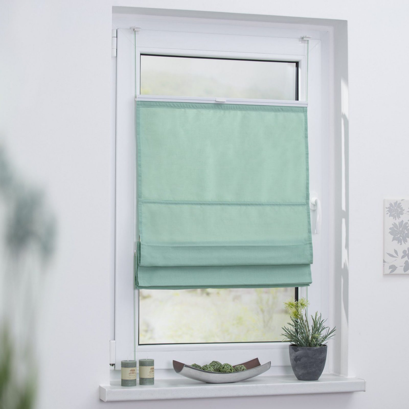 Fabelhafte Sichtschutz Fenster Selber Machen Raffrollo Klemmfix Top von Sichtschutz Fenster Selber Machen Photo
