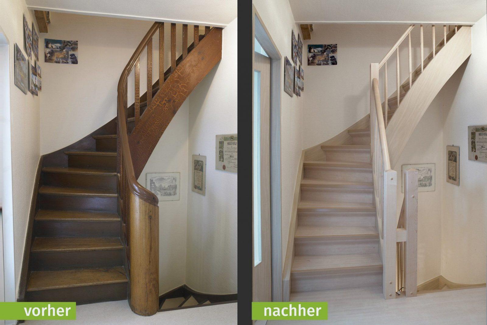 Fabelhafte Treppe Zum Spitzboden Treppe Renovieren Vorher Nachher von Treppe Renovieren Vorher Nachher Photo