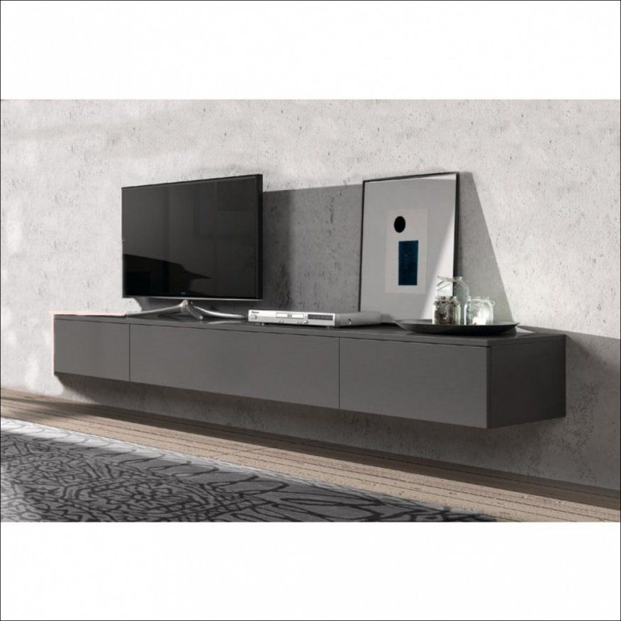 Fabelhafte Tv Lowboard Weiß Hochglanz Hängend Innenarchitektur Avec von Lowboard Weiß Hochglanz 3M Bild