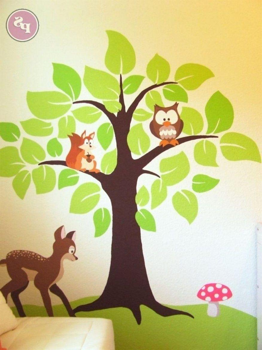 Fabelhafte Wandbilder Kinderzimmer Selber Machen Wandbilder Avec von Wandbilder Kinderzimmer Selber Malen Photo
