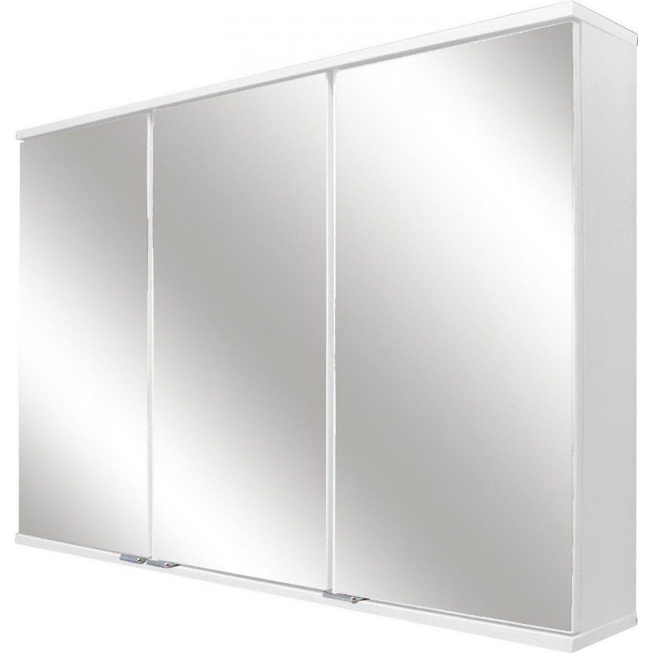 Fackelmann Spiegelschrank 1005 Cm Rl100 Weiß Eek A++ Kaufen Bei Obi von Bad Spiegelschrank 100 Cm Breit Photo
