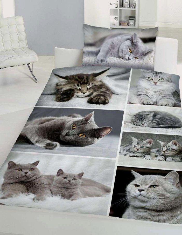 Fantastisch Bettwäsche Mit Katzenmotiv Schon Bettwasche Katzen Gros von Bettwäsche Katzenmotiv Fotodruck Bild
