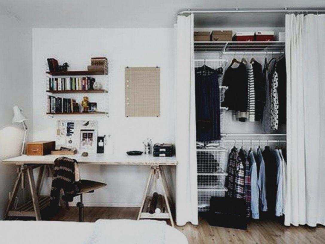 Fantastisch Offener Kleiderschrank Mit Vorhang Ideen  Wohnzimmer von Offener Kleiderschrank Mit Vorhang Bild