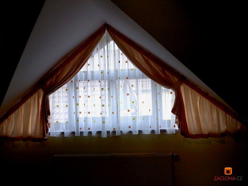 Fantastisch Vorhang Schräge Fenster Gardinen Befestigen Speyeder von Schiebegardinen Für Schräge Fenster Bild