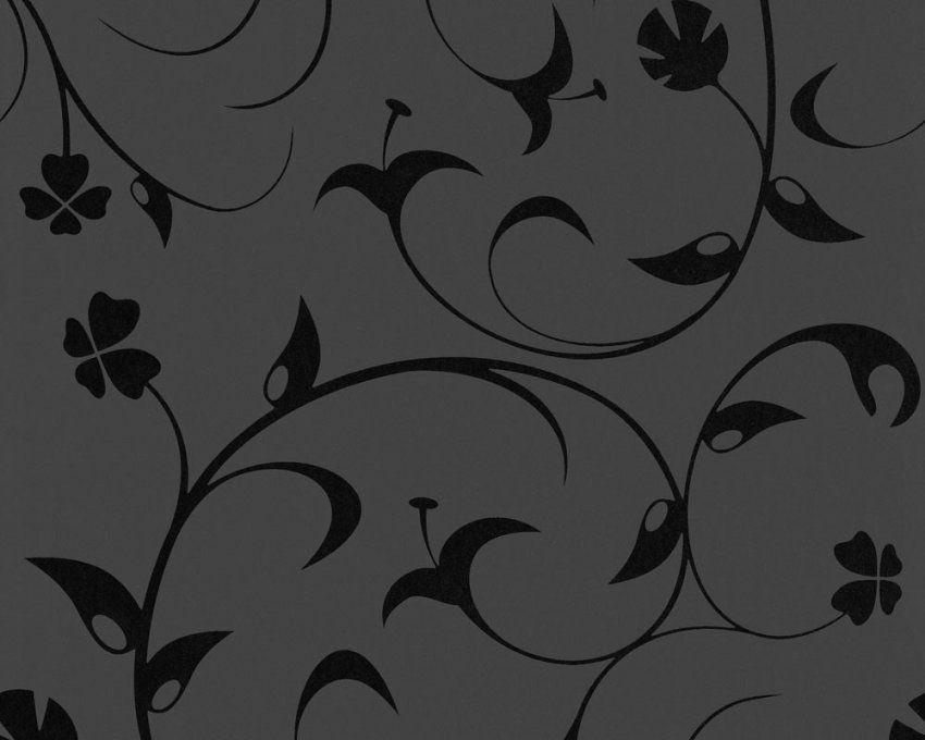 Fantastische Ideen Schwarze Tapete Mit Muster Und Phänomenale Avec von Schwarze Tapete Mit Muster Bild