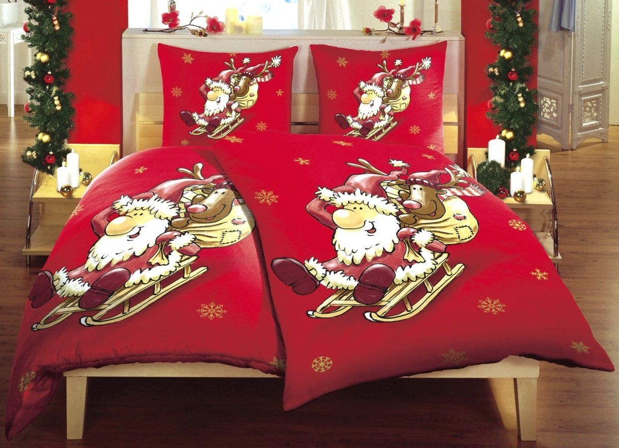 Fantastische Inspiration Bettwäsche Mit Weihnachtsmotiv Und Schöne von Bettwäsche Mit Weihnachtsmotiv Photo