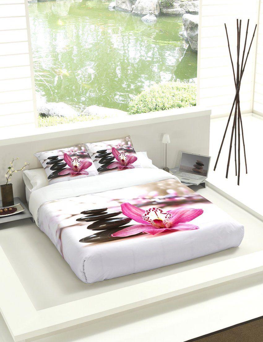 Fantastische Inspiration Bettwäsche Orchidee Und Gute Zen Bettwasche von Bettwäsche Orchideen Motiv Bild