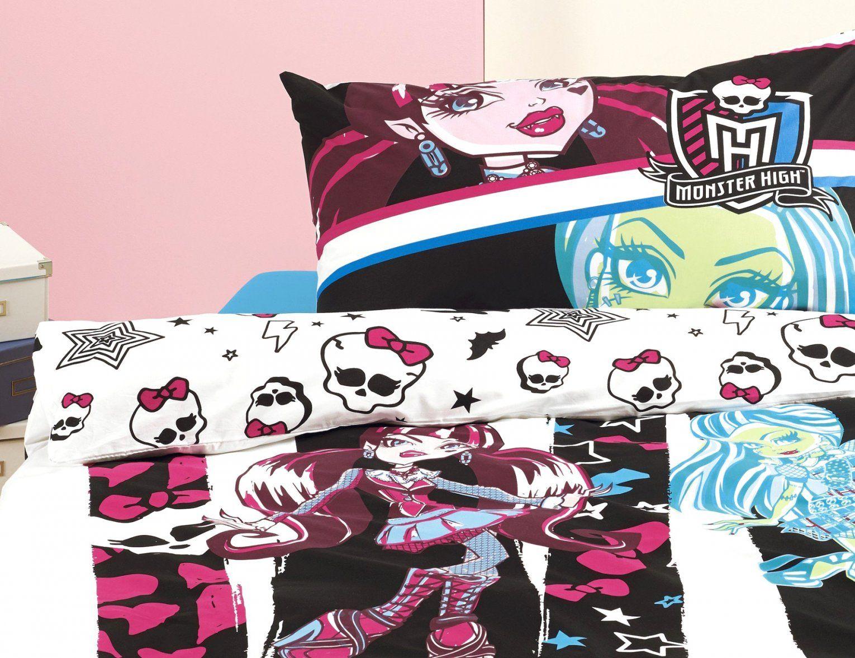 Fantastische Inspiration Monster High Bettwäsche Und von Monster High Bettwäsche Biber Bild