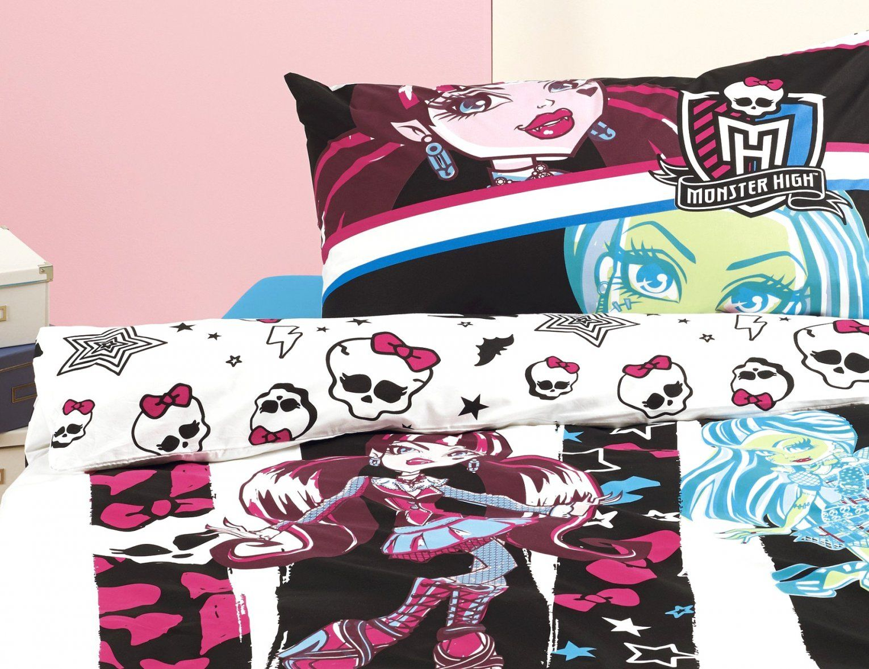 Fantastische Inspiration Monster High Bettwäsche Und von Monster High Bettwäsche Bild