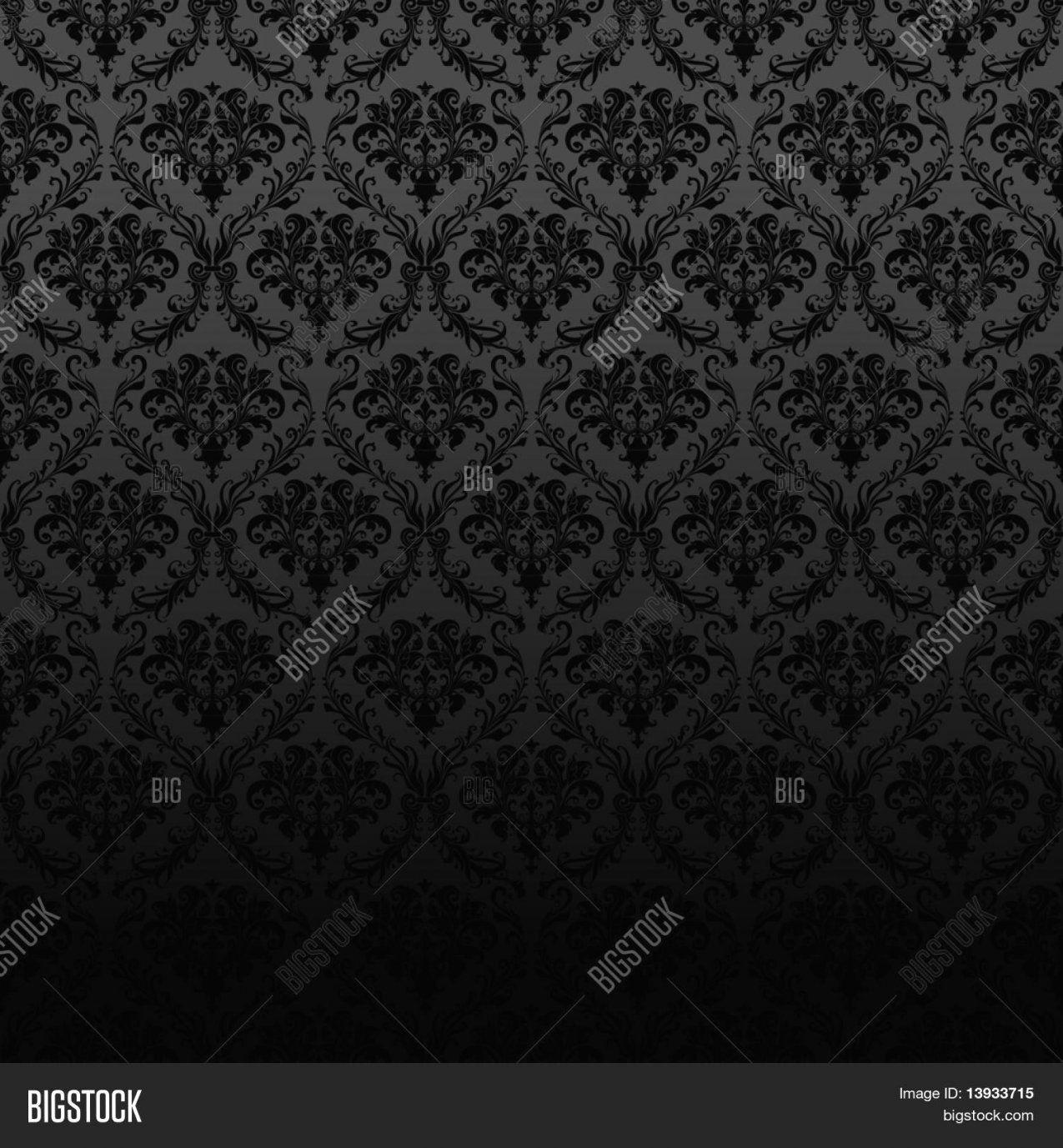 Fantastische Inspiration Schwarze Tapete Mit Muster Und Tolle von Schwarze Tapete Mit Muster Bild
