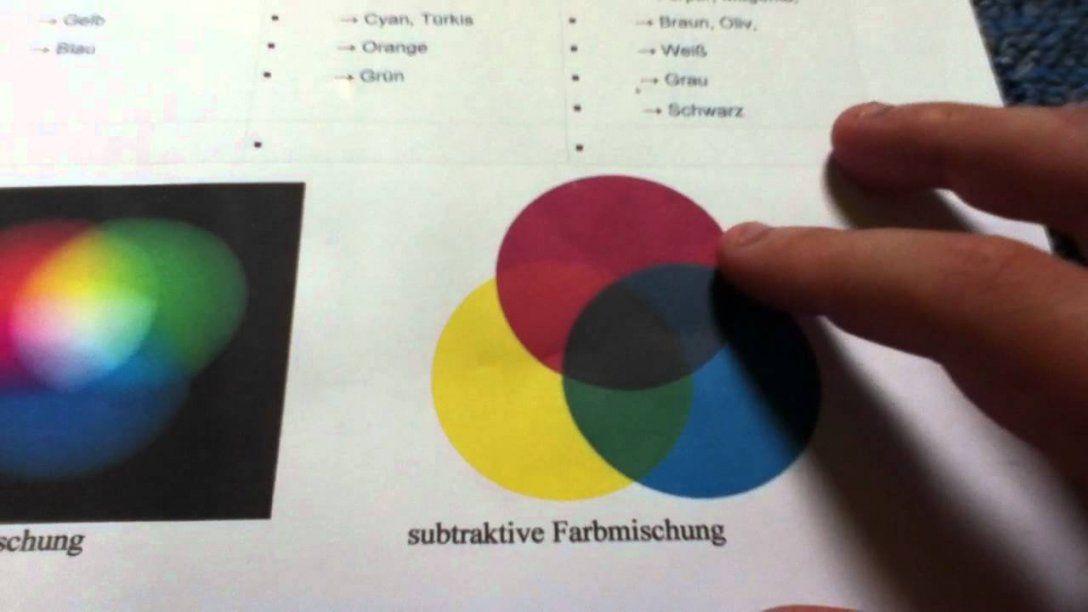 Farben Mischen  Farbenlehre  Youtube von Wie Mischt Man Braun Photo