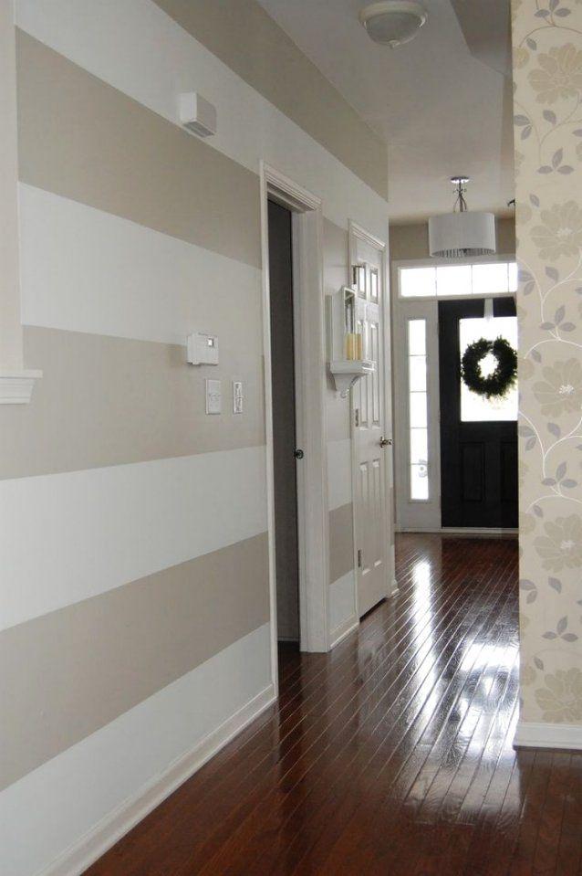 Coole Wohnideen Fur Flur Gestaltung Mit Farbetung Eingangsbereich ...
