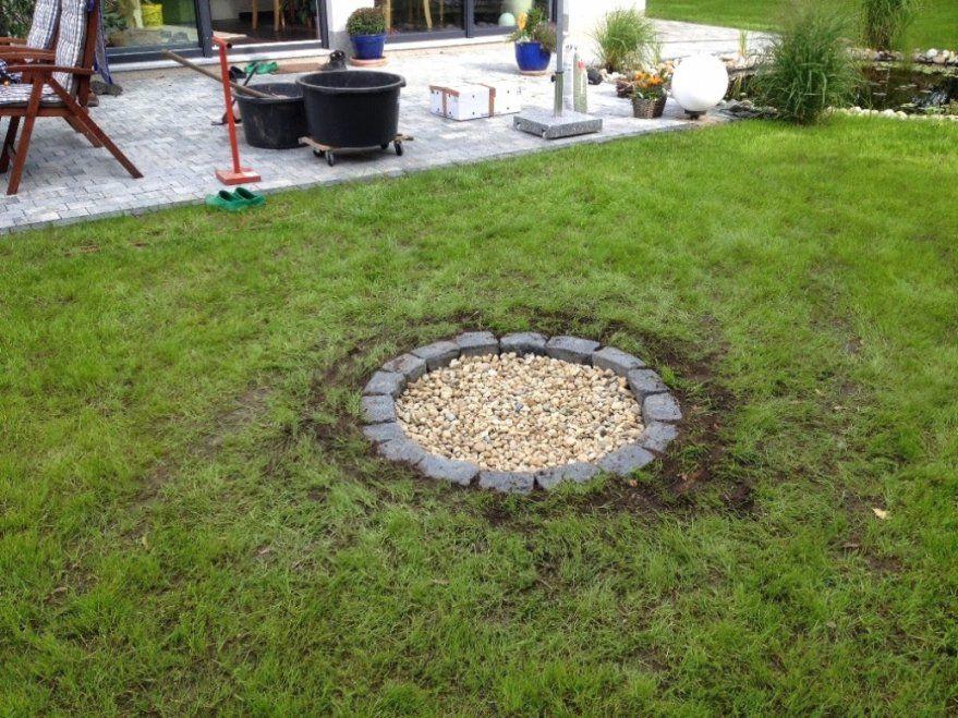 Faszinierend Feuerstelle Im Garten Wunderbare Ideen Offene von Feuerstelle Im Garten Anlegen Bild
