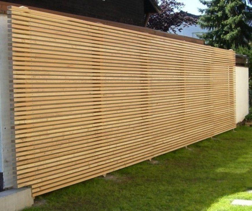 Faszinierend Garten Holz Sichtschutz Flashzoominfo Enjoyable von Sichtschutz Garten Holz Modern Photo
