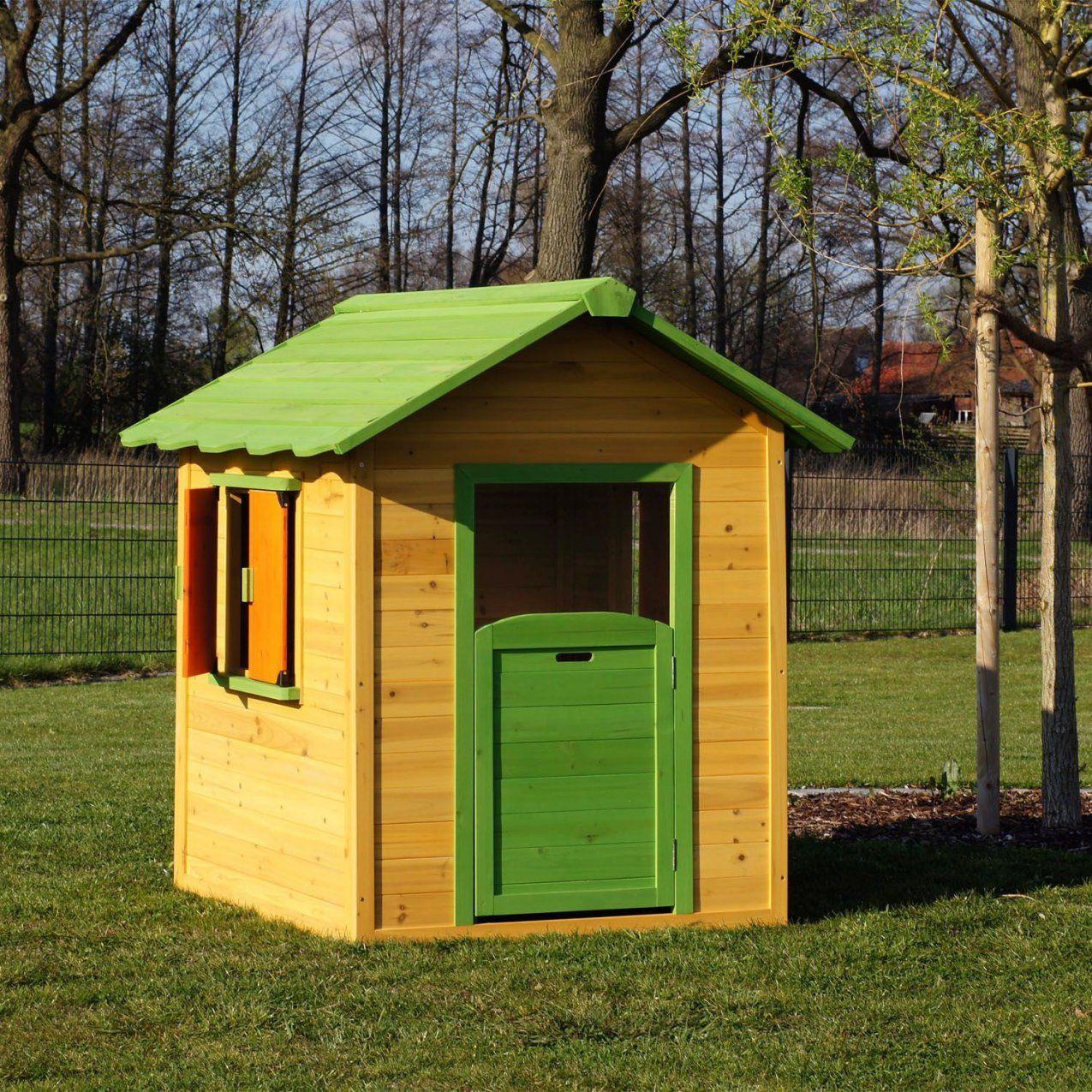 Faszinierend Kinder Holzhaus Selber Bauen Kinderspielhaus Kleines von Kinder Holzhaus Selber Bauen Bild
