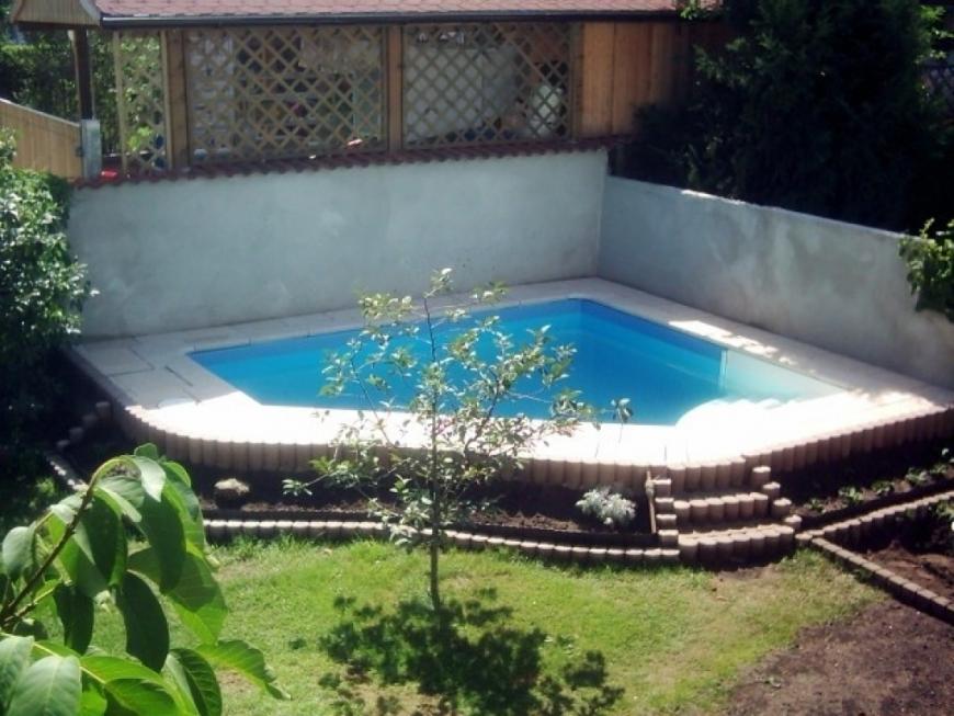 Faszinierend Kleiner Pool Im Garten Stilvolle Runder Pool Im Garten