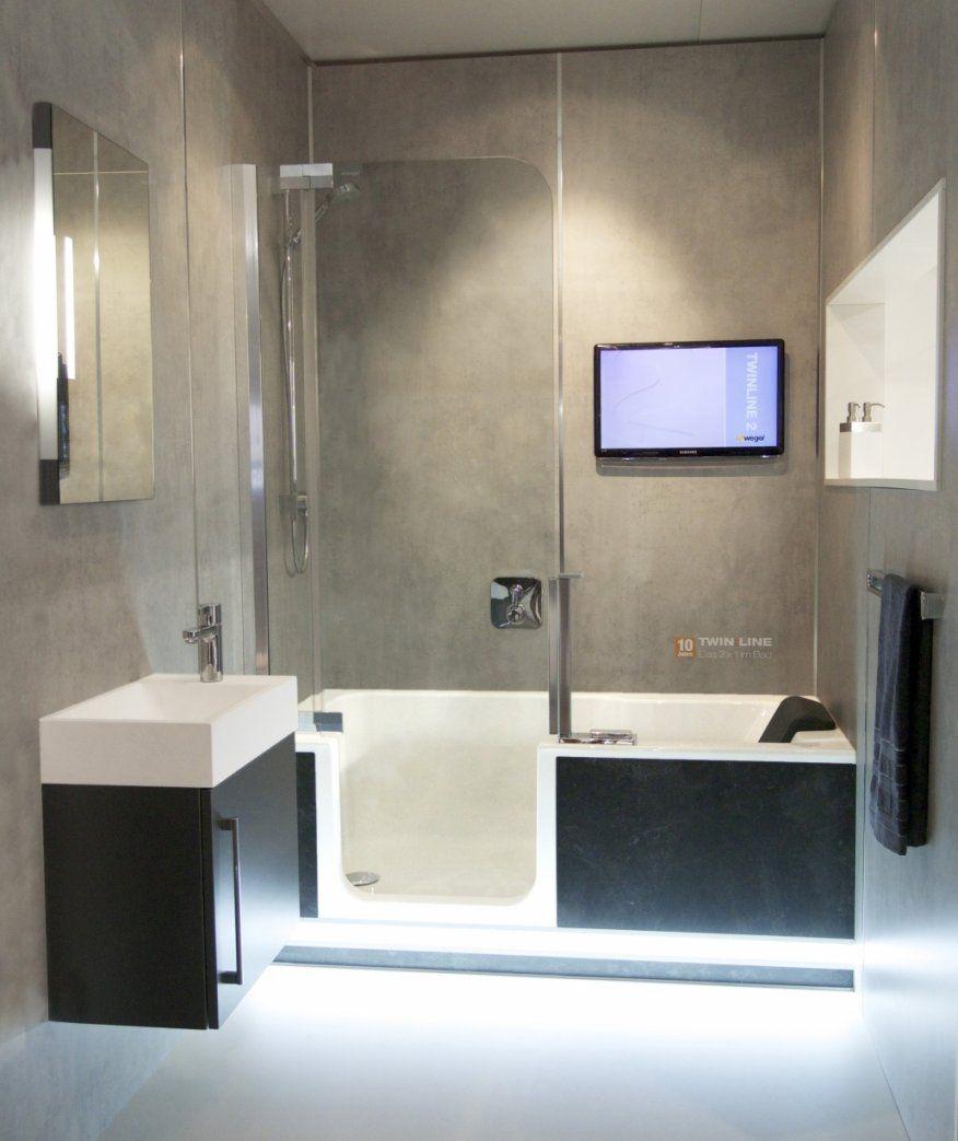 Schon Faszinierend Kleines Bad Mit Wanne Und Dusche Komplettes Bad Auf Von Badewanne  Dusche Kleines Bad Photo
