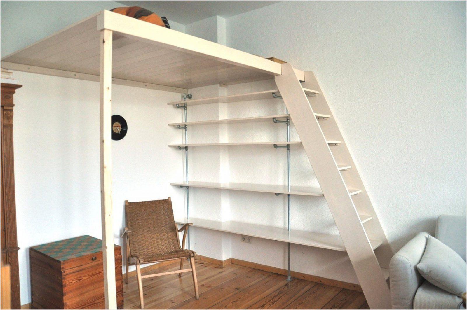 Faszinierend Stilvoll Hochbett Zum Hochbett Selbst Gebaut Avec von Hochbett Leiter Selber Bauen Bild