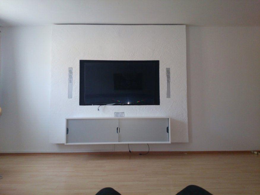 Faszinierend Tv Verkleidung Selber Bauen Tv Wand Selber Bauen Rigips von Tv Wand Selber Bauen Rigips Photo