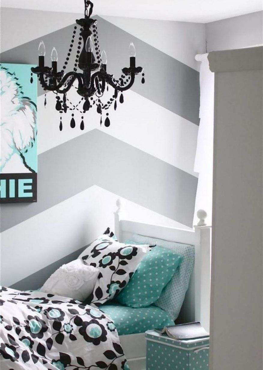 Faszinierend Wand Streichen Muster Ideen Streifen Und Zig Zag Muster von Wand Streichen Muster Streifen Photo