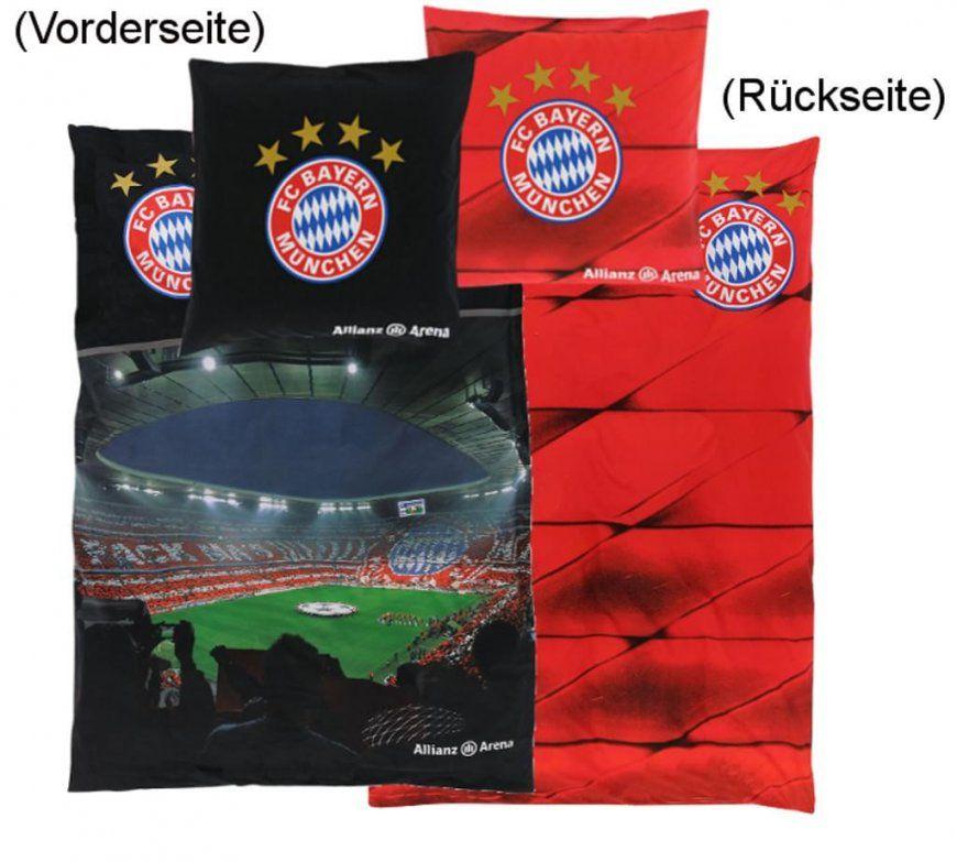 Fc Bayern München Bettwäsche Allianz Arena  Real von Bayern München Bettwäsche Biber Bild