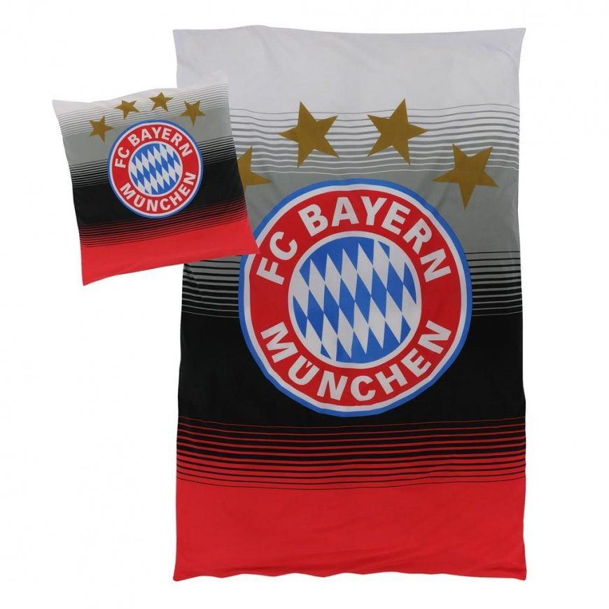 Fc Bayern München Bettwäsche Fan 135X200Cm  Real von Bayern München Bettwäsche Biber Bild