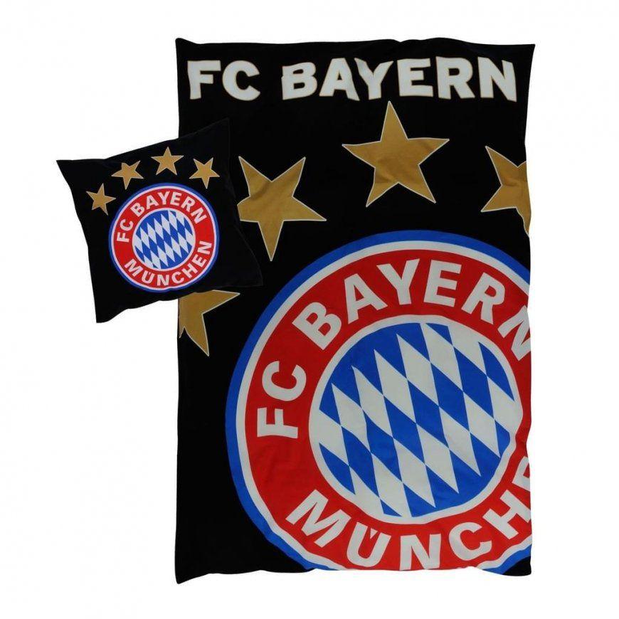 Fc Bayern München Bettwäsche Glow In The Dark  Real von Bayern München Bettwäsche Real Bild