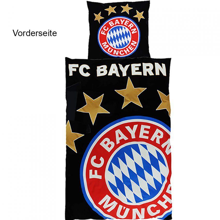 Fc Bayern München Bettwäsche Glow In The Dark von Fc Bayern Bettwäsche 155X220 Bild