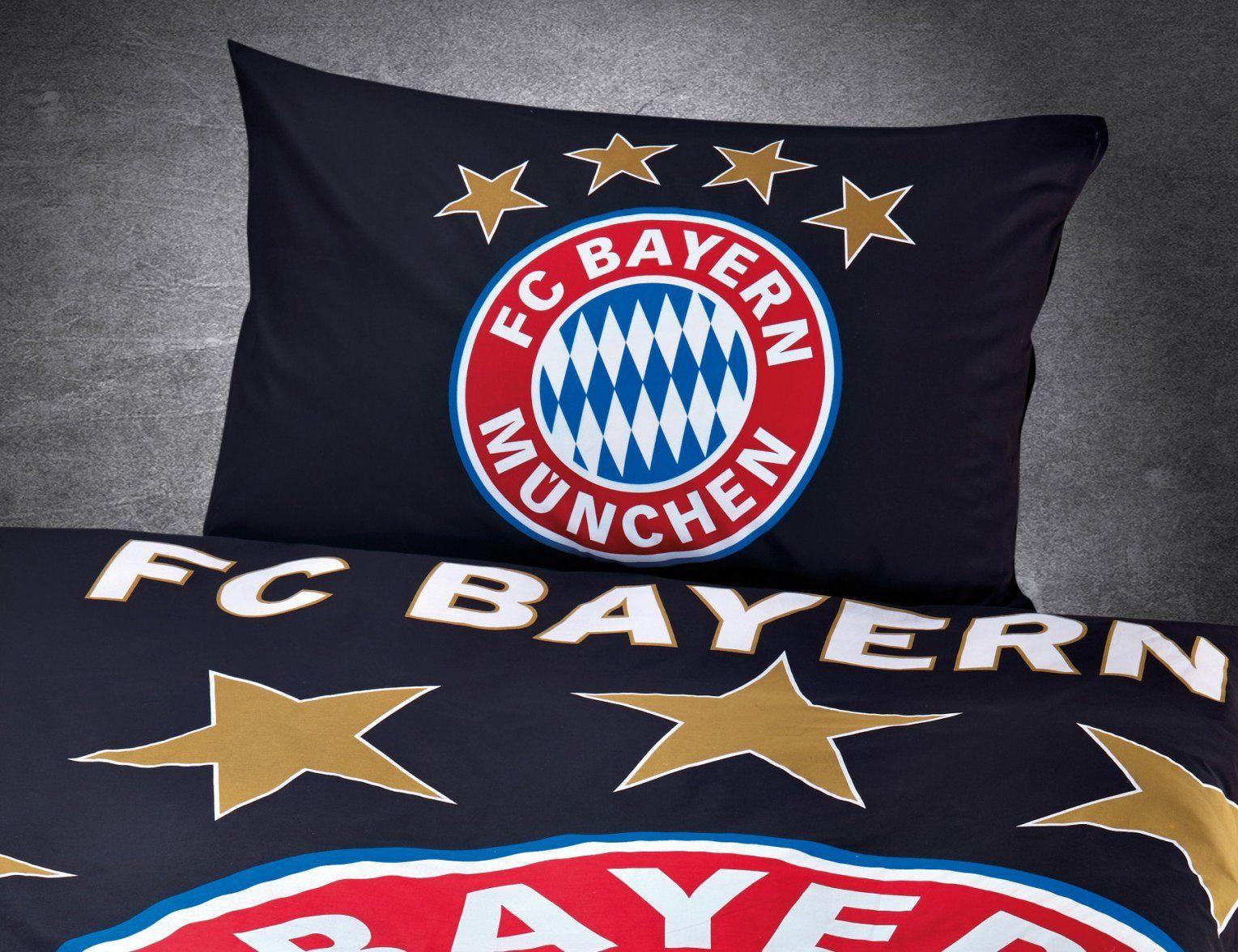 Fc Bayern München Bettwäsche Leuchtet Im Dunkeln Günstig ⋆ Lehner von Bayern München Bettwäsche Günstig Bild