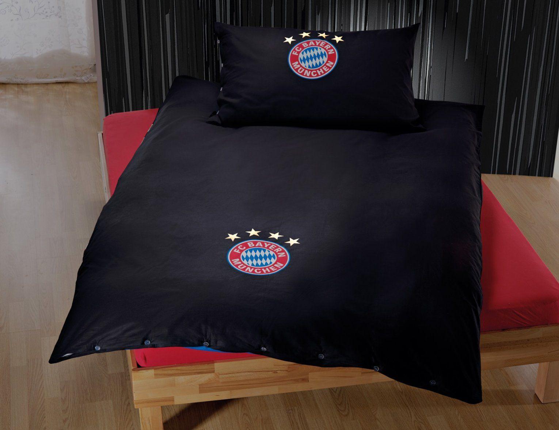 fc bayern m nchen bettw sche leuchtet im dunkeln g nstig lehner von bettw sche bayern m nchen. Black Bedroom Furniture Sets. Home Design Ideas