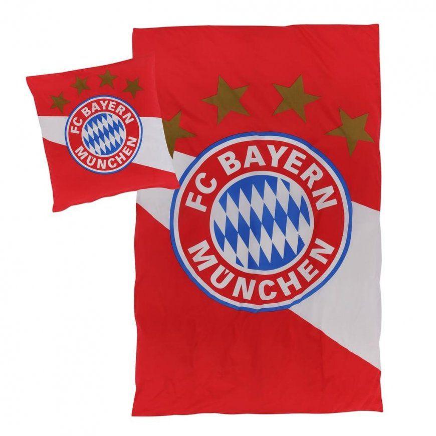 Fc Bayern München Biber Bettwäsche Rot Weiß Gr  Real von Bayern München Gardinen Photo
