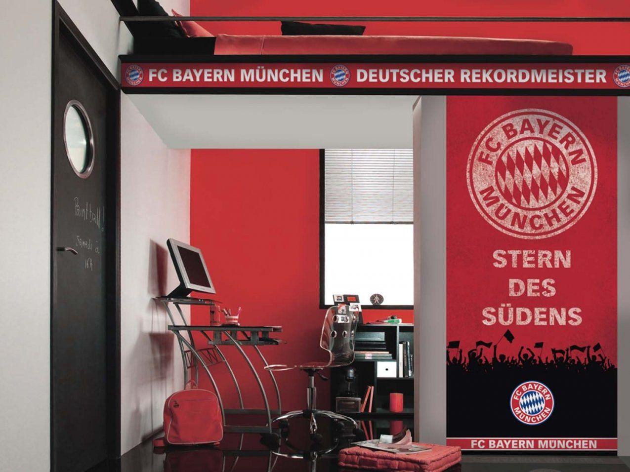 Fc Bayern München Tapeten  Gratisversand ✓ Rechnungskauf✓︎ von Bayern München Gardinen Bild
