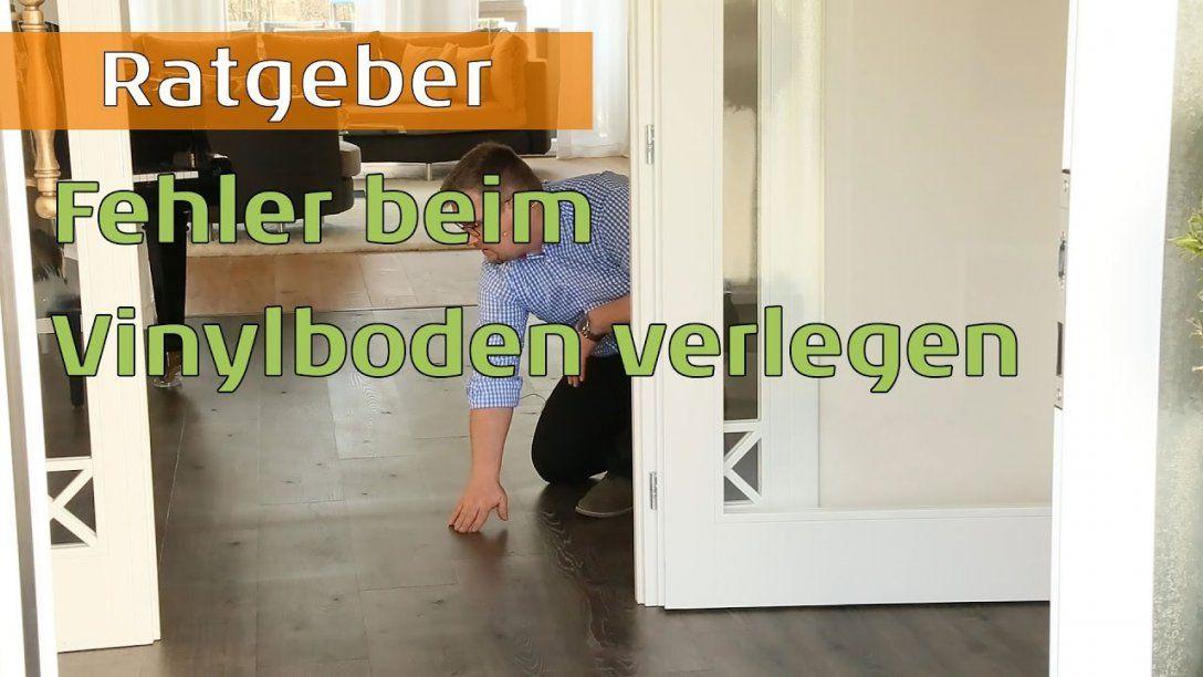 Fehler Bei Verlegung Von Vinylboden Auf Fliesen  Youtube von Kann Man Vinylboden Auf Fliesen Verlegen Bild