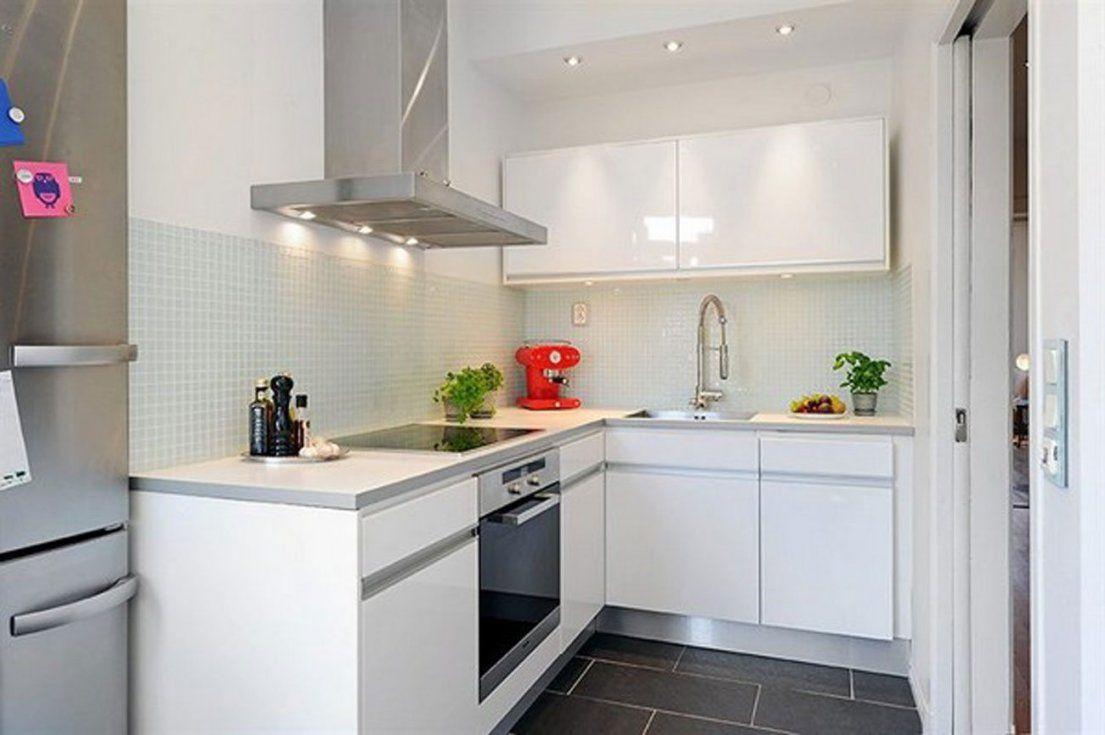 Fein Spaß Kleine Küchen Galerie  Küchen Ideen Modern von Küche Kleiner Raum Modern Bild