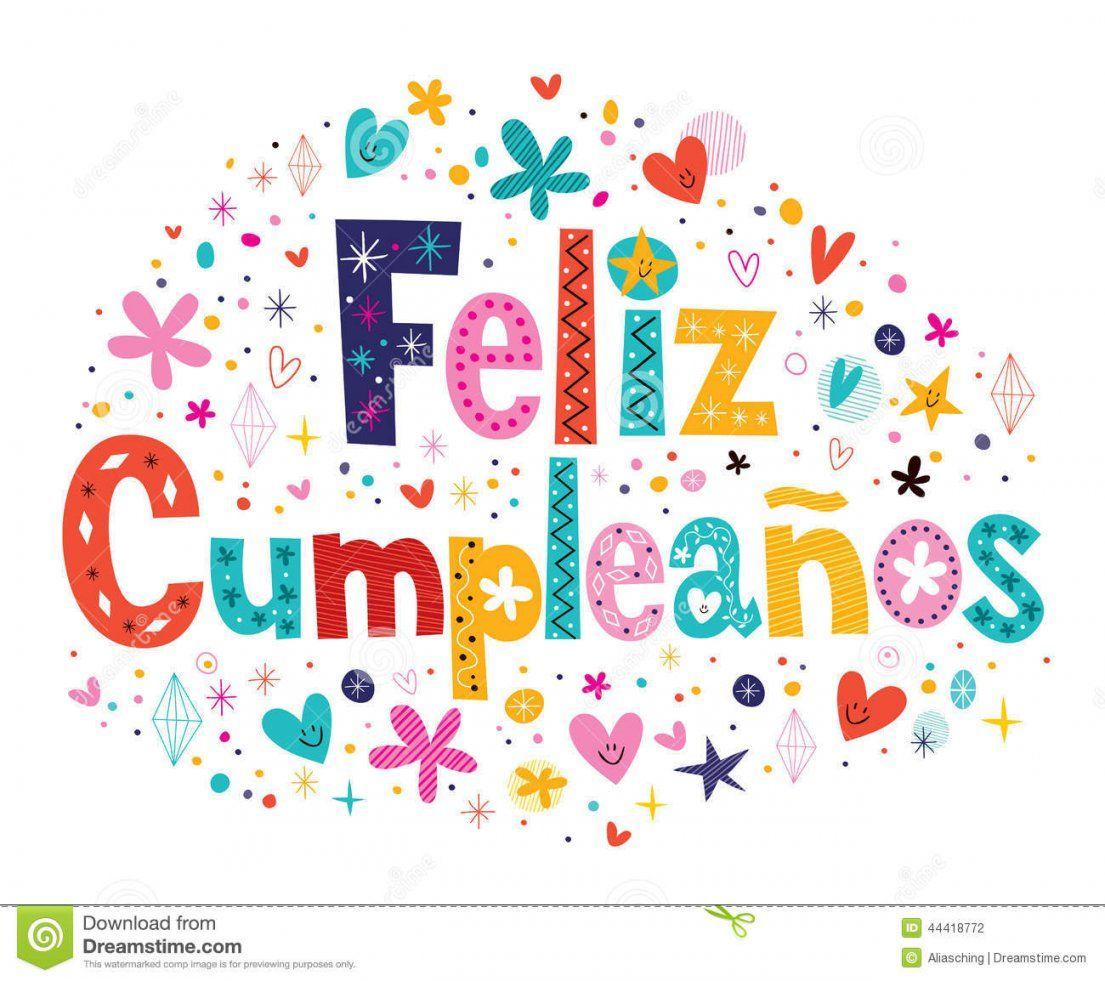 Feliz Cumpleanos  Alles Gute Zum Geburtstag Im Spanischen Text von Alles Gute Zum Geburtstag Auf Spanisch Bild