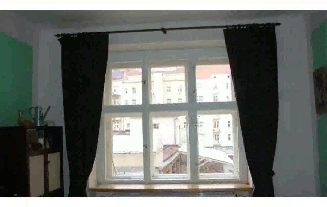 Fenster Gestalten Gardinen  Bilder  Youtube von Vorhang Ideen Für Kleine Fenster Bild