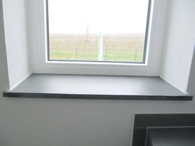 Fensterbank Anthrazit Fenster Stein Aussen Granit von Fenster Ohne Fensterbank Außen Photo