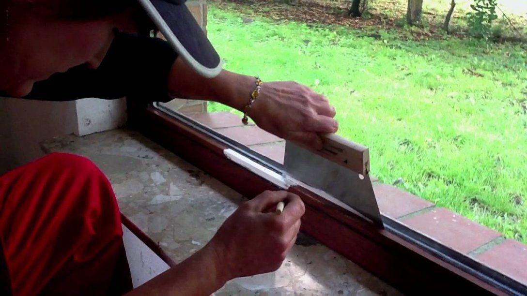 Fensterrahmen Streichen Ohne Abkleben  Youtube von Kanten Streichen Ohne Abkleben Bild