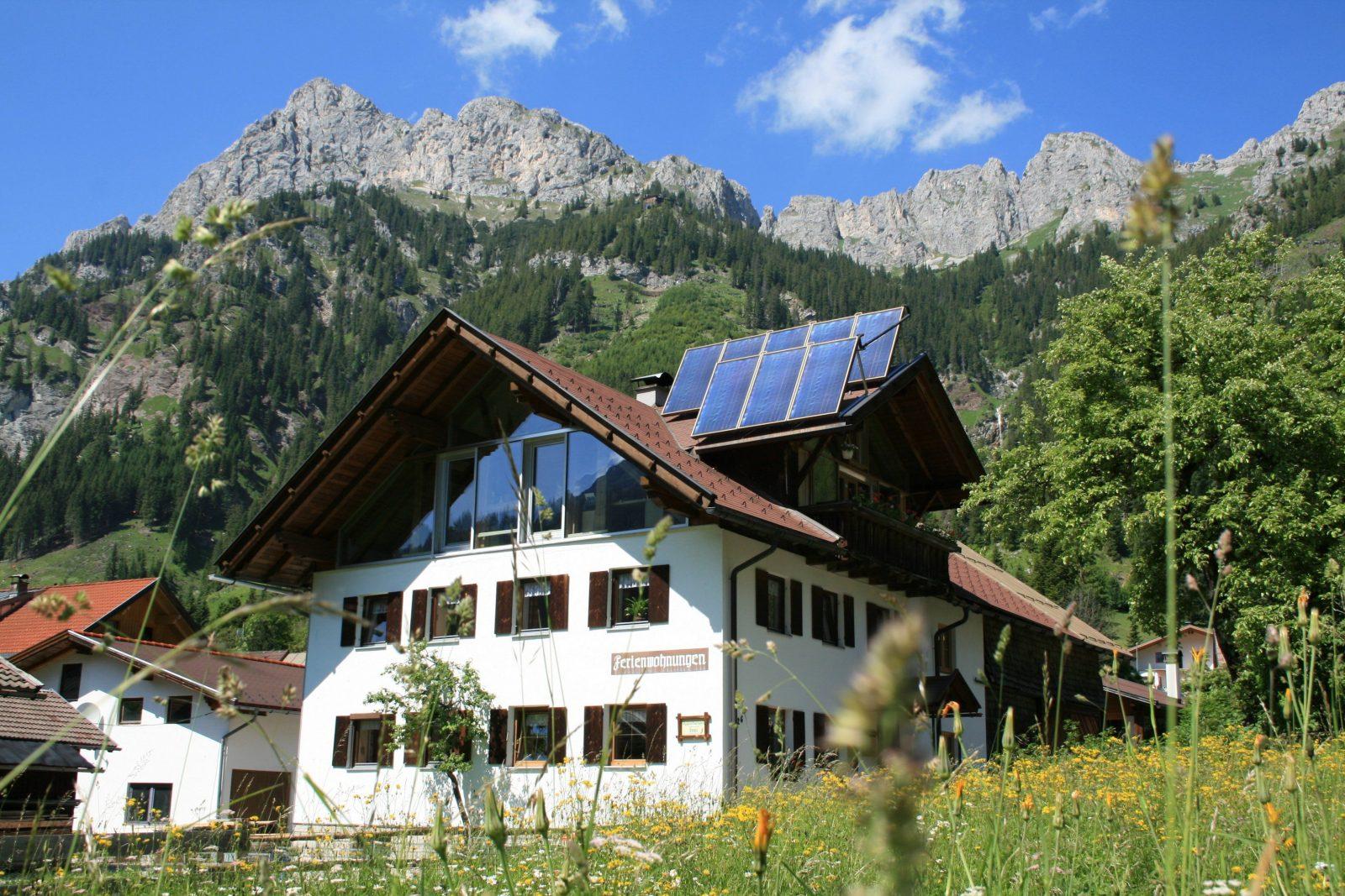Ferienhaus Im Tannheimer Tal  Tannheimer Tal Tourismus von Haus Kaufen Tannheimer Tal Bild