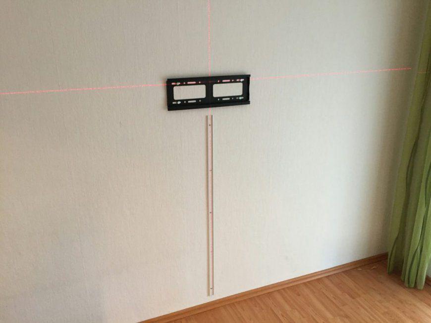 Fernseher An Die Wand Montieren – Welche Höhe Ist Sinnvoll  My von Tv An Wand Befestigen Photo