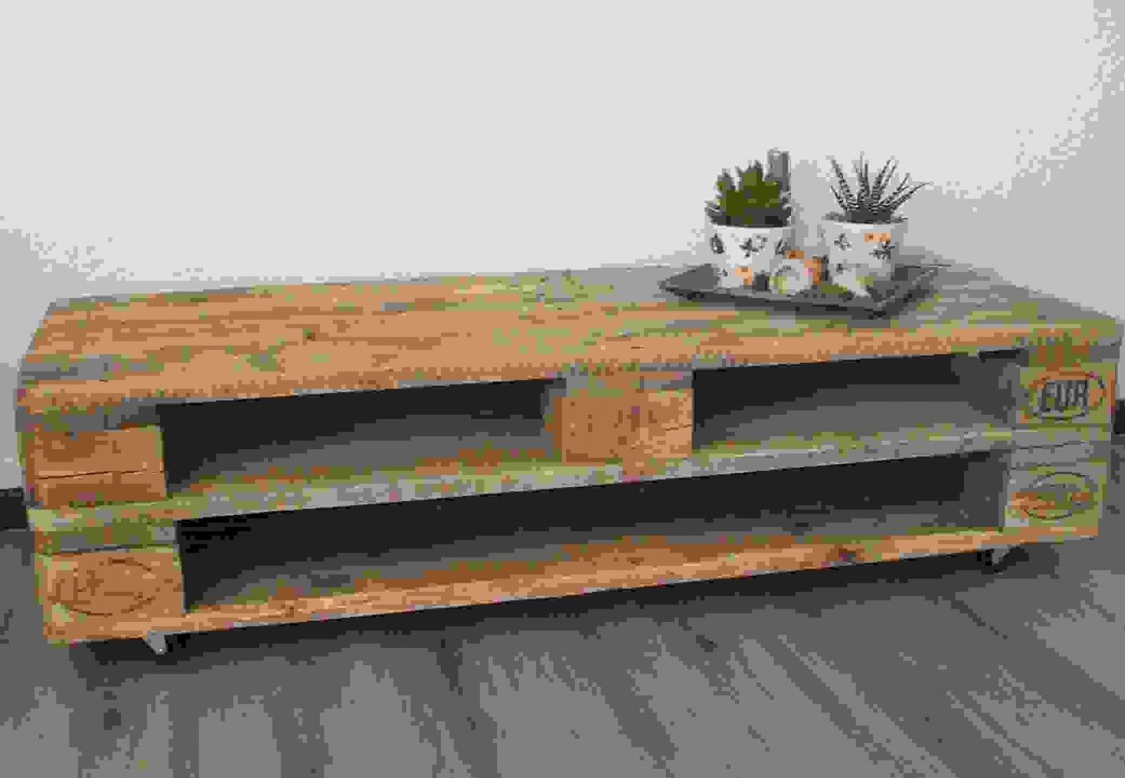 Fernsehschrank Aus Paletten – Interior Design Ideen Architektur Und von Tv Bank Aus Paletten Bild