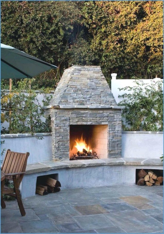 Feuerstelle Fur Terrasse Cheap Selber Bauen Beautiful Die With von Feuerstelle Terrasse Selber Bauen Bild