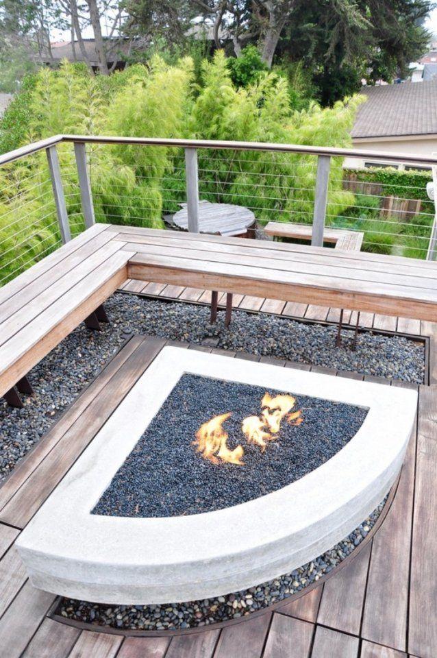 Feuerstelle Im Garten Bauen  49 Ideen Und Bilder Als Inspirationen von Feuerstelle Im Garten Anlegen Bild