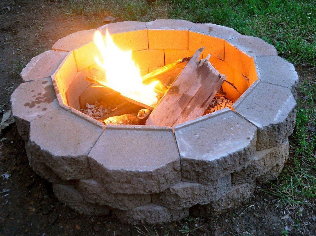 Feuerstelle Im Garten Selber Bauen Diy Feuerstelle Im Garten  Youtube von Offene Feuerstelle Garten Selber Bauen Photo