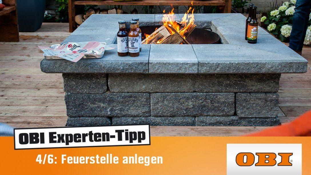 Feuerstelle Selber Bauen Experten Tipp Von Obi  Projekt von Feuerstelle Terrasse Selber Bauen Photo