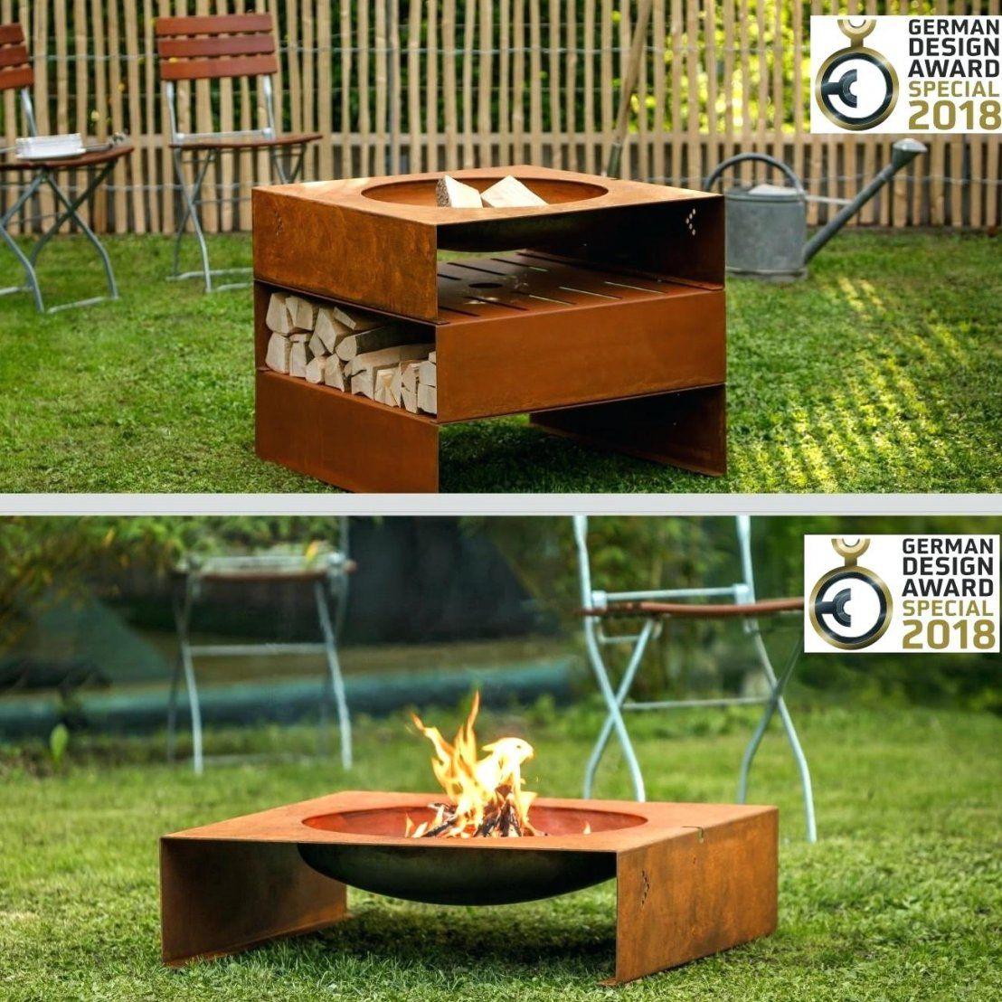 Feuerstellen Garten: Feuerstelle Terrasse Selber Bauen
