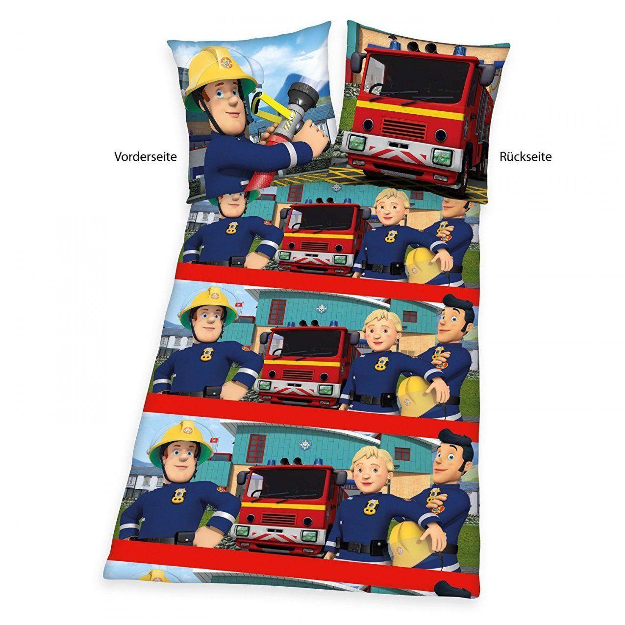Feuerwehrmann Mehr Als 500 Angebote Fotos Preise ✓  Seite 3 von Feuerwehrmann Sam Bettwäsche Flanell Bild
