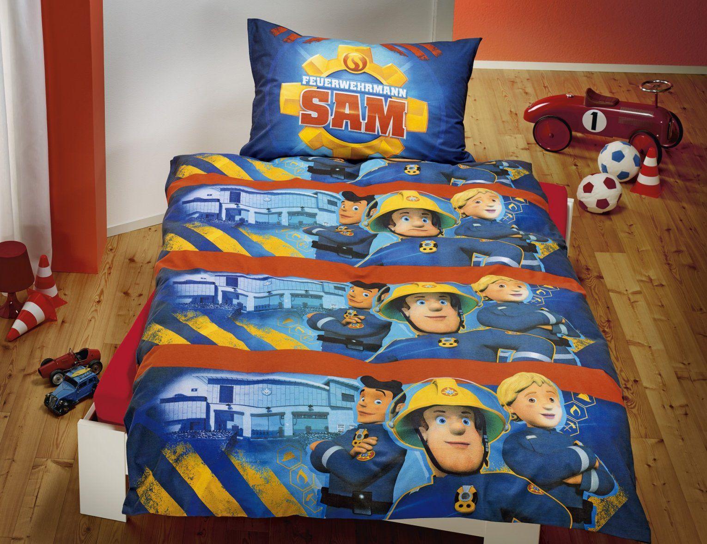 Feuerwehrmann Sam Bettwäsche Blau Günstig ⋆ Lehner Versand von Feuerwehrmann Sam Bettwäsche Flanell Photo