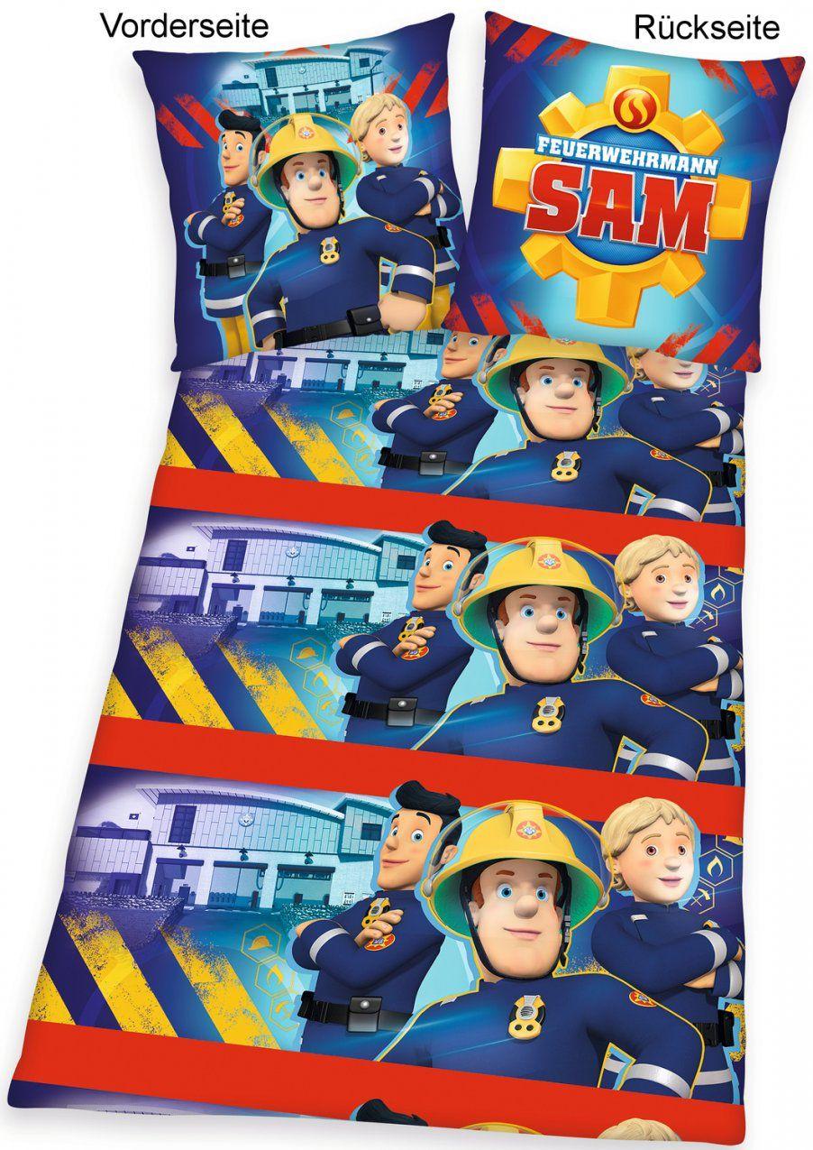 Feuerwehrmann Sam Bettwäsche Rotation Flanell von Feuerwehrmann Sam Bettwäsche Flanell Bild